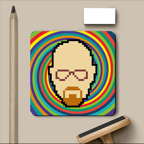 PosterGully Coasters, Breaking Bad Psychedelic Coaster, - PosterGully