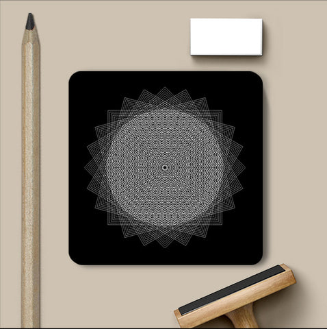 PosterGully Coasters, Abstract 4 | Devatrisha Coaster, - PosterGully