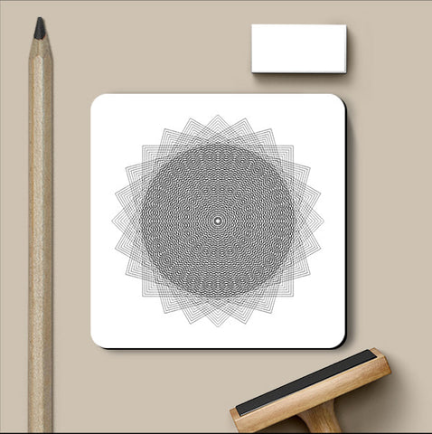 PosterGully Coasters, Abstract 5 | Devatrisha Coaster, - PosterGully