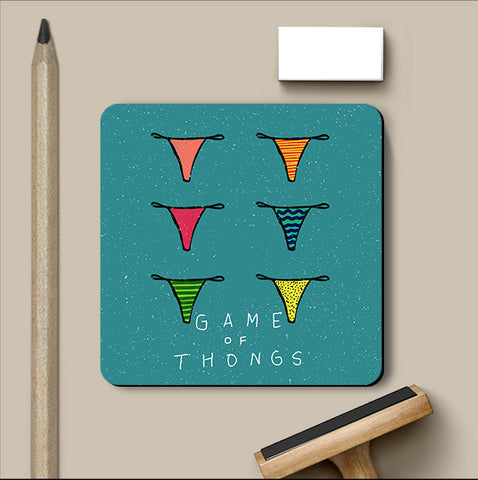 PosterGully Coasters, Game Of Thrones Humour Coaster, - PosterGully