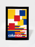 Glass Framed Posters, Columbia Soccer Team #footballfan Glass Framed Poster, - PosterGully - 1