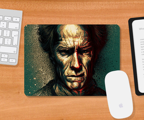 Mousepads, Clint Eastwood Artwork Mousepad, - PosterGully