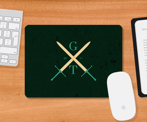 Mousepads, Game Of Thrones Swords Mousepad, - PosterGully