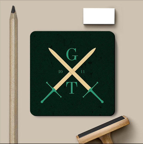 PosterGully Coasters, Game Of Thrones Swords Coaster, - PosterGully