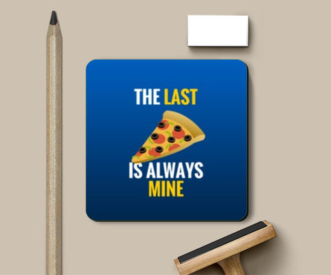 Coasters, Last slice of pizza |  Coasters | Artist : Nikhil Wad, - PosterGully