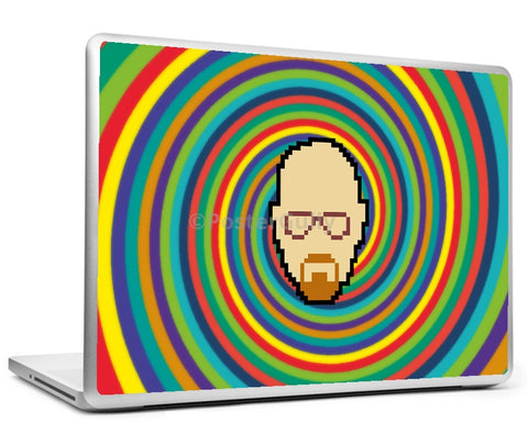 Laptop Skins, Breaking Bad Psychedelic Laptop Skin, - PosterGully