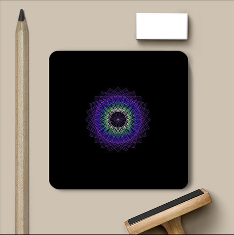 PosterGully Coasters, Abstract 13 | Devatrisha Coaster, - PosterGully