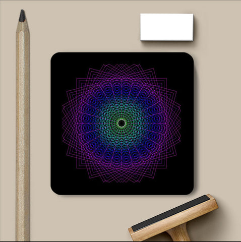 PosterGully Coasters, Abstract 14 | Devatrisha Coaster, - PosterGully