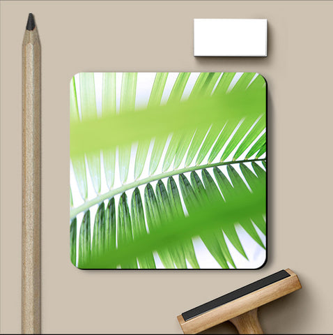 PosterGully Coasters, Leaves 2  Coaster, - PosterGully