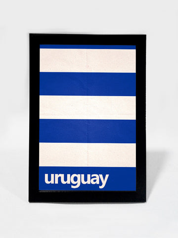 Framed Art, Uruguay Soccer Team #footballfan | Framed Art, - PosterGully