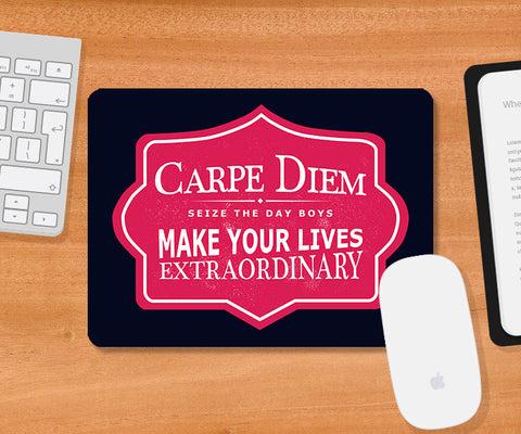 Mousepads, Carpe Diem Dead Poets Society Mousepad, - PosterGully
