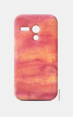 Orange Gradient Moto G Cases | Artist : Ankita Sharma