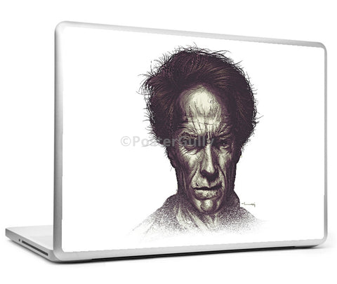 Laptop Skins, Clint Eastwood Matte Raj Khatri Laptop Skin, - PosterGully