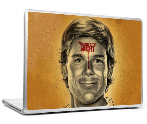 Laptop Skins, Dexter Tonight's The Night Artwork Laptop Skin, - PosterGully
