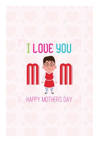 I Love You Mom Art PosterGully Specials