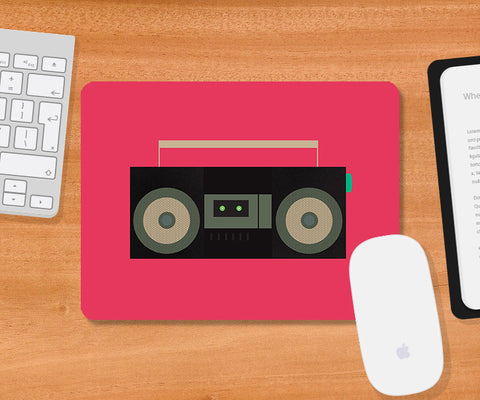 Mousepads, BoomBox Music Mousepad, - PosterGully