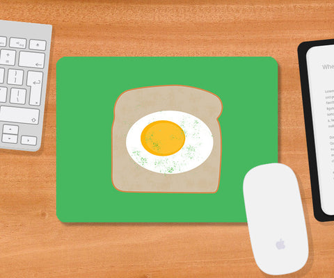 Mousepads, Egg On Bread Mousepad, - PosterGully