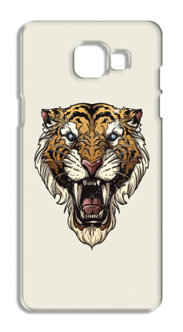 Saber Toothed Tiger Samsung Galaxy A5 2016 Cases | Artist : Inderpreet Singh