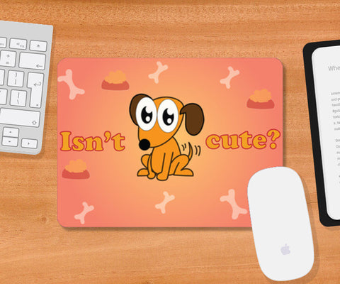 Mousepad, cute dog Mousepad | Artist : Anuj Goyal, - PosterGully