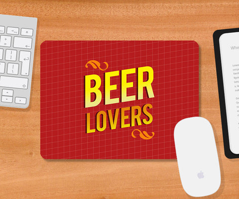 Mousepads, Beer Lovers Mousepad., - PosterGully