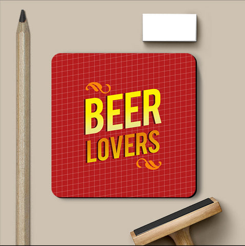 PosterGully Coasters, Beer Lovers Coaster, - PosterGully