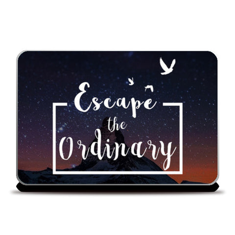 Escape the Ordinary Laptop Skins | Artist : Kaushal Faujdar