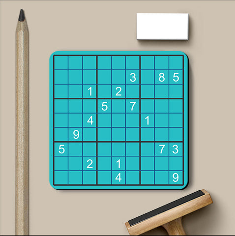 PosterGully Coasters, Sudoku Games Coaster, - PosterGully