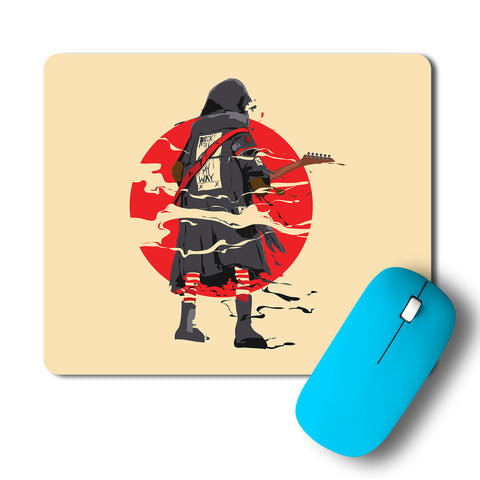 Rockstar Guitarist Artwork Mousepad