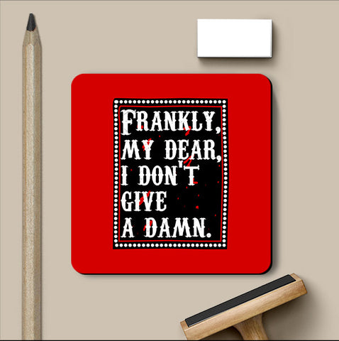 PosterGully Coasters, Frankie My Dear Gone With The Wind Coaster, - PosterGully