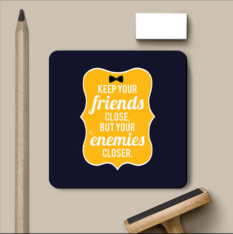 PosterGully Coasters, Keep Your Friends Godfather Coaster, - PosterGully