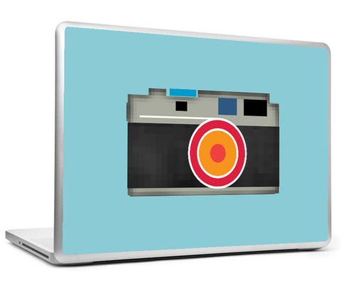 Laptop Skins, Retro Camera Pop Art Laptop Skin, - PosterGully