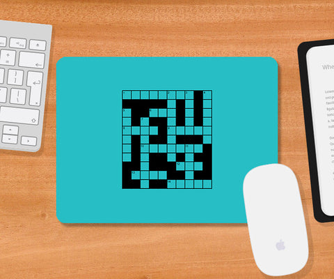 Mousepads, Cross Word Game Mousepad, - PosterGully