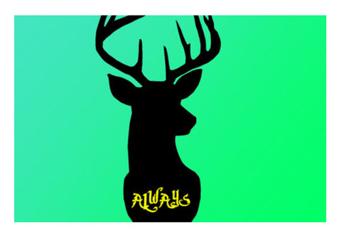 Harry Potter Always Deer  Wall Art  | Artist : Nalin Singh