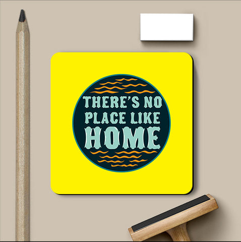 PosterGully Coasters, There's No Place The Wizard of Oz Coaster, - PosterGully