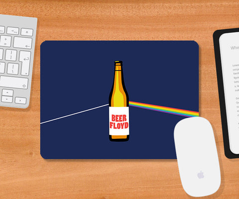 Mousepads, Beer Floyd - Pink Floyd Humour Mousepad, - PosterGully