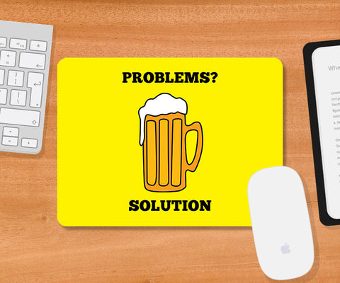 Mousepads, Problems Beer Humour Mousepad, - PosterGully