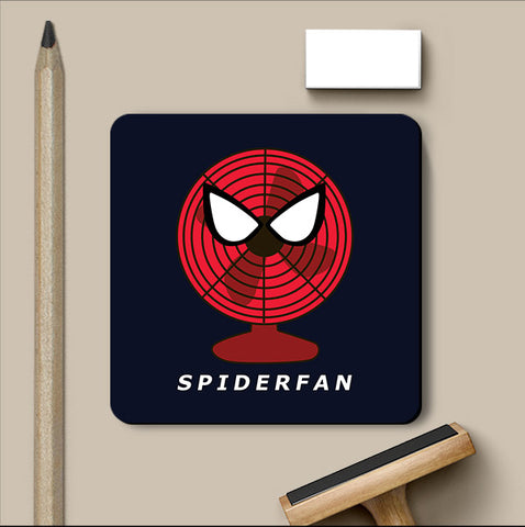PosterGully Coasters, Spiderfan - Spiderman Humour Coaster, - PosterGully
