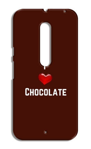 I love chocolate Moto X Style Cases | Artist : Pallavi Rawal