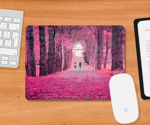 Mousepad, Lonely Road Mousepad | Artist : Delusion, - PosterGully