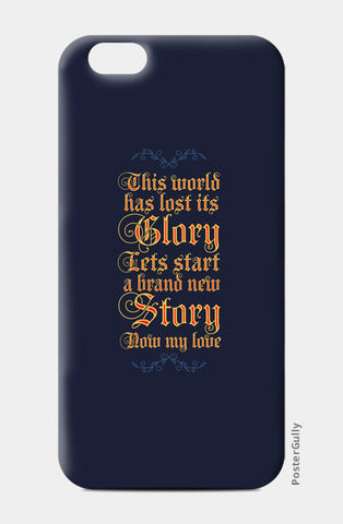 A new story iPhone 6/6S Cases | Artist : Abhishek Faujdar