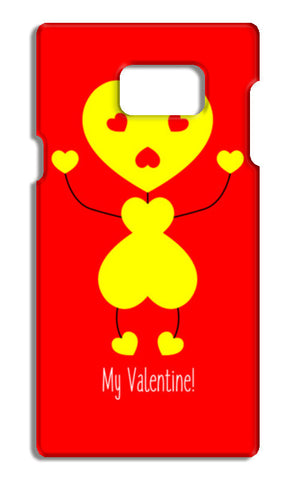 Bee My Valentine Samsung Galaxy Note 5 Cases | Artist : Designerchennai