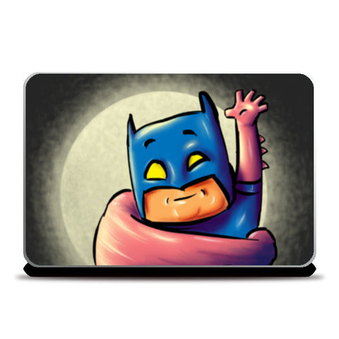 batman superman fan art Laptop Skins | Artist : Juergen Dsouza