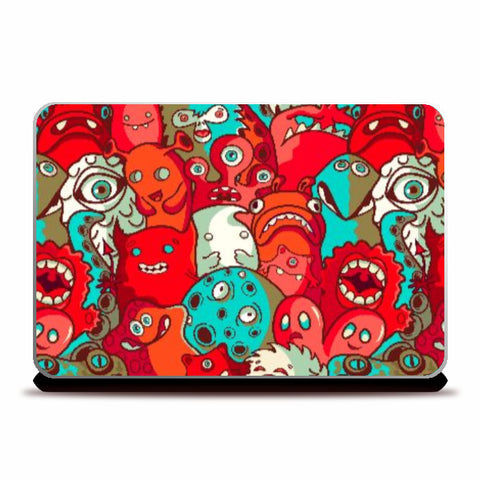 Laptop Skins, Monster Need Laptop Skin Cover, - PosterGully