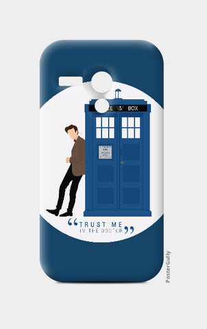 Moto G Cases, The Doctor and TARDIS Moto G Case | Artist: Mohak Gulati, - PosterGully