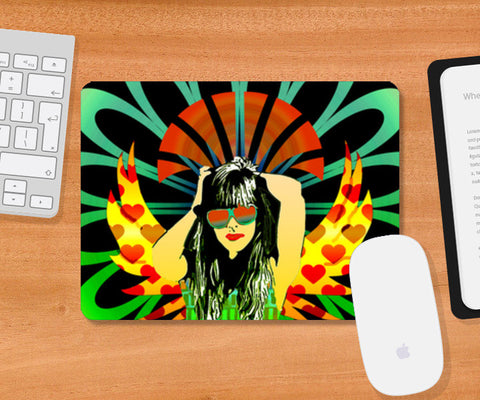 Woman of substance! Mousepad | Artist : Design_Dazzlers