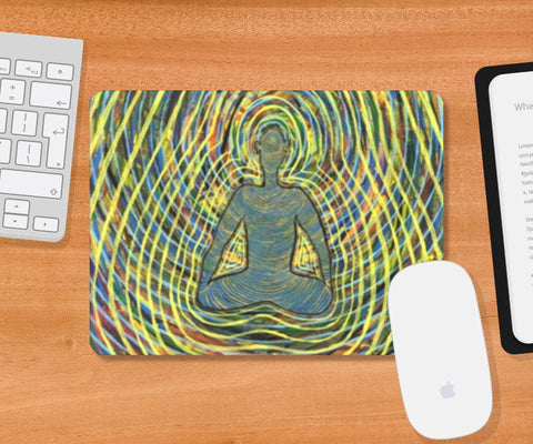 Mousepad, Satchidananda - Blissful Exprience of Pure Consciousness Mousepad | Artist : Luke's Art Voyage, - PosterGully