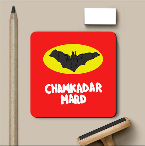 PosterGully Coasters, Chamkadar Man Coaster, - PosterGully
