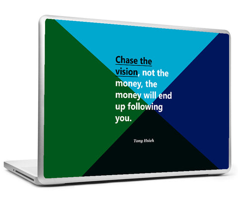 Laptop Skins, Tony Hsieh Vision - Startup Quote Laptop Skin, - PosterGully