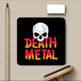 PosterGully Coasters, Death Metal Skull Coaster, - PosterGully