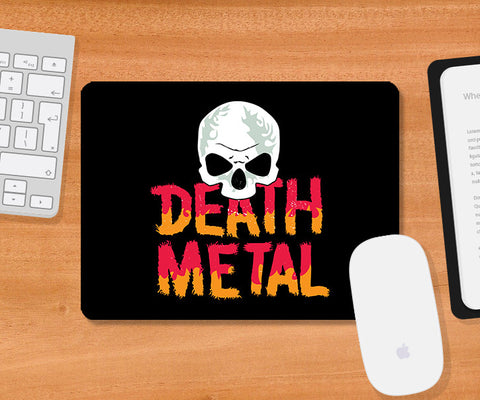 Mousepads, Death Metal Skull Mousepad, - PosterGully